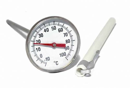 Darkroom Chemical Dial Thermometer 45mm Stainless Steel for Film Processing